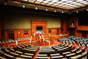 The Japanese house of reprensetatives - gain insight into politics and society of Japan