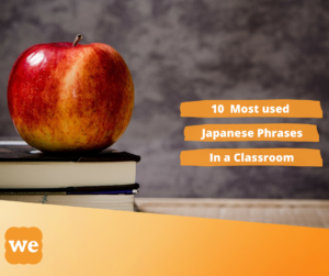 Most used Japanese phrases in the classroom